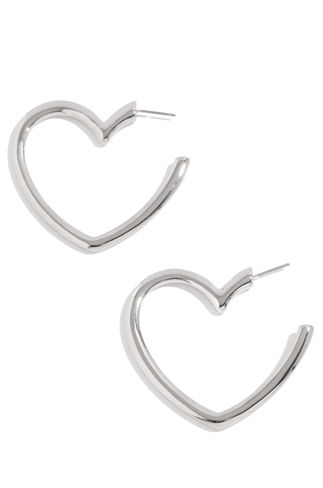 Forever Faithful Earring- Silver