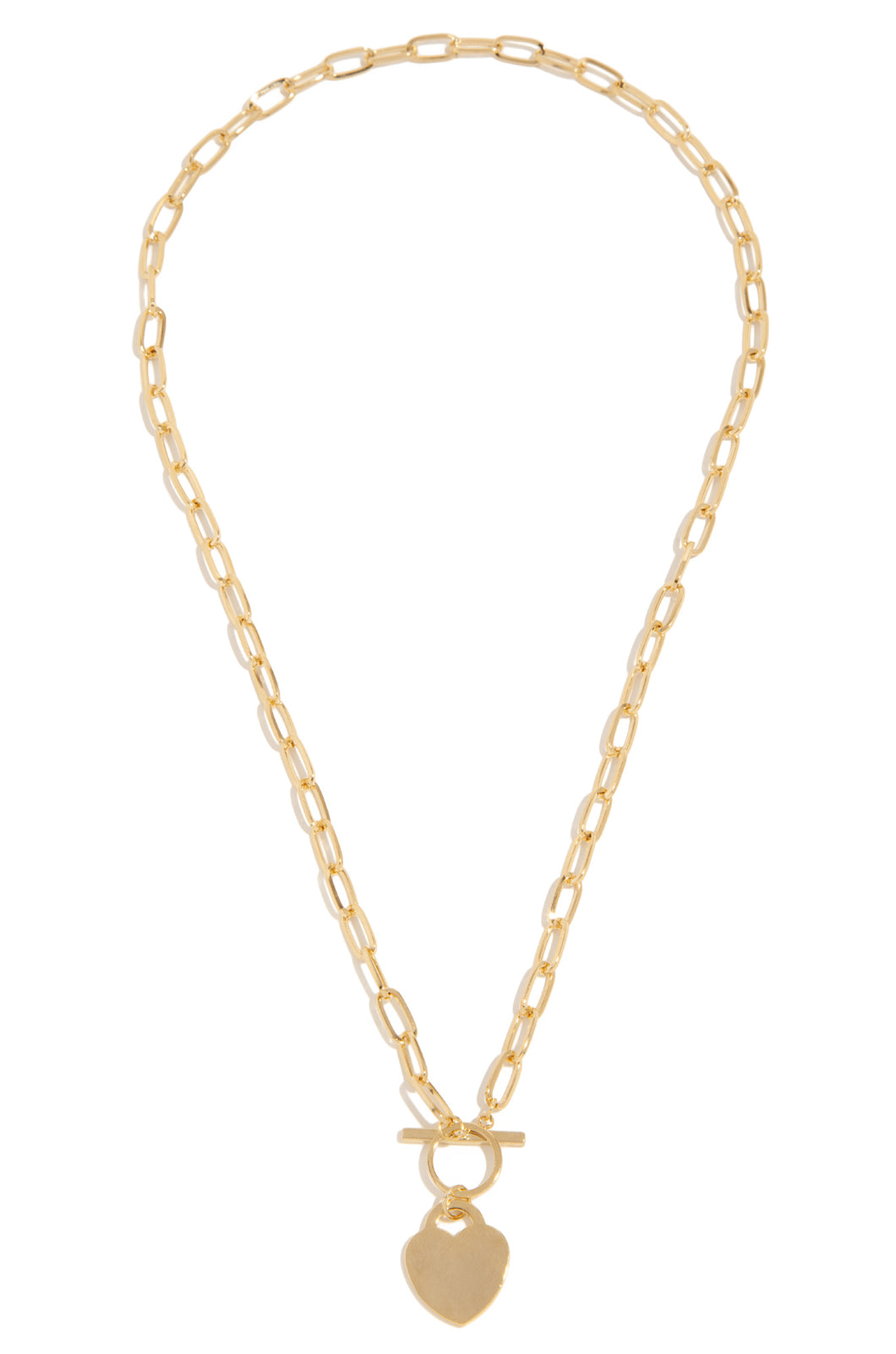 Heart Of Gold Necklace - Gold