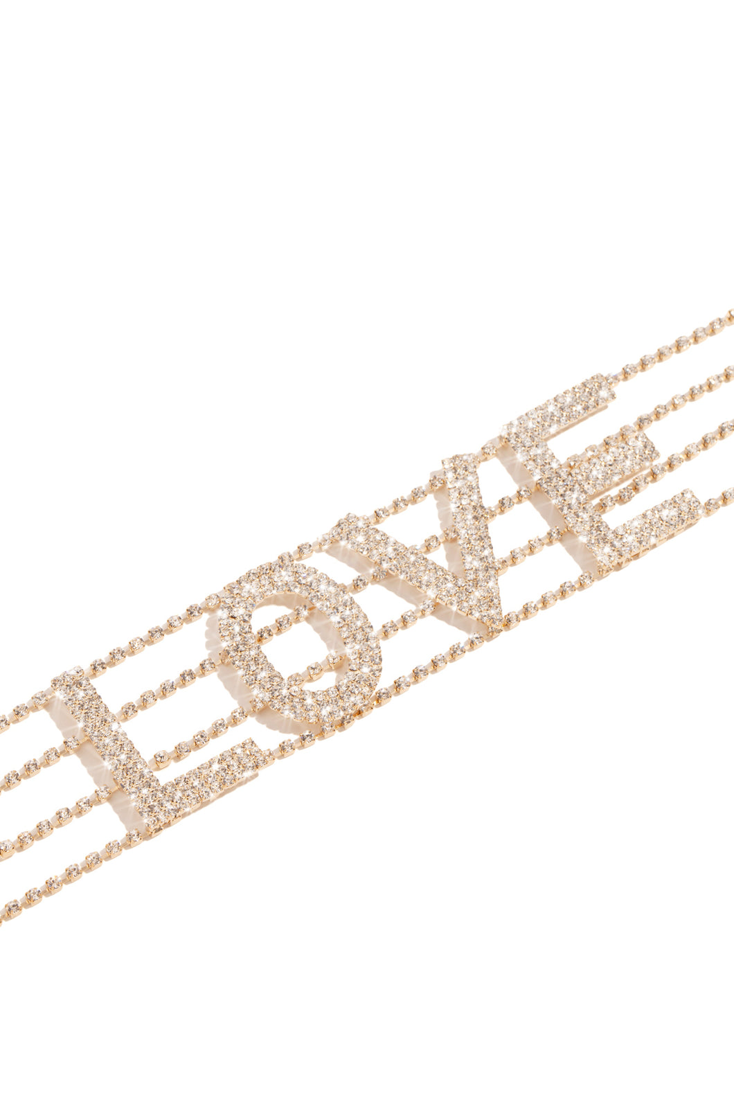 Toxic Love Choker - Gold