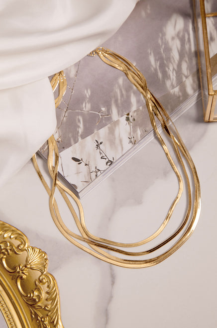 Nicole Necklace - Gold