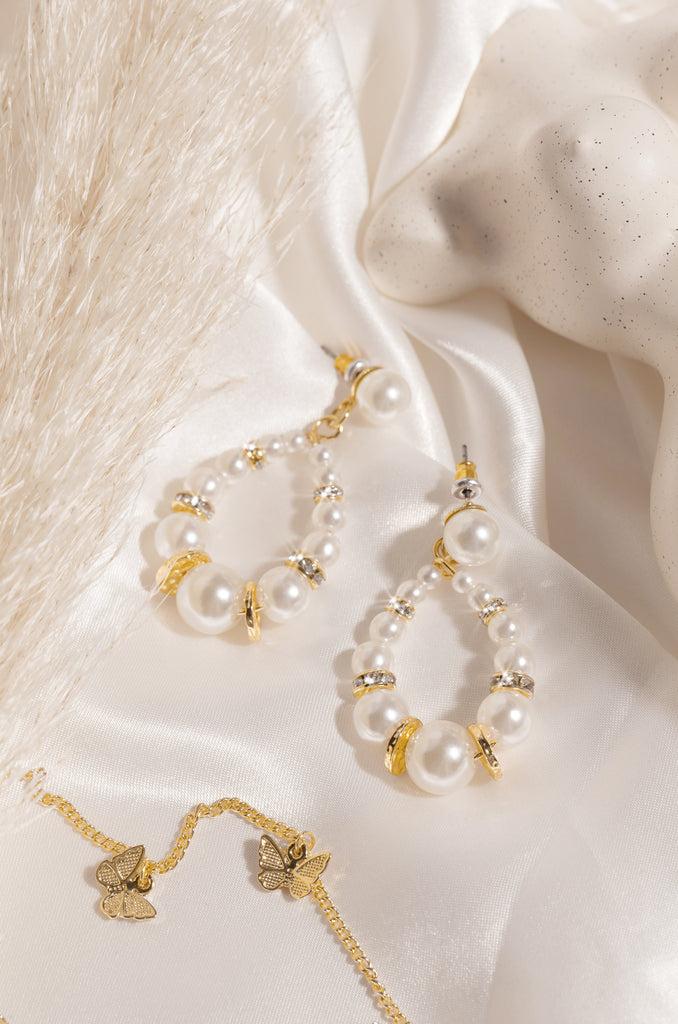Bella Perla Earring - Gold