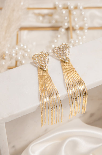 Heart of Gold Earring - Gold