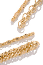 Allison Hair Clip Set - Gold