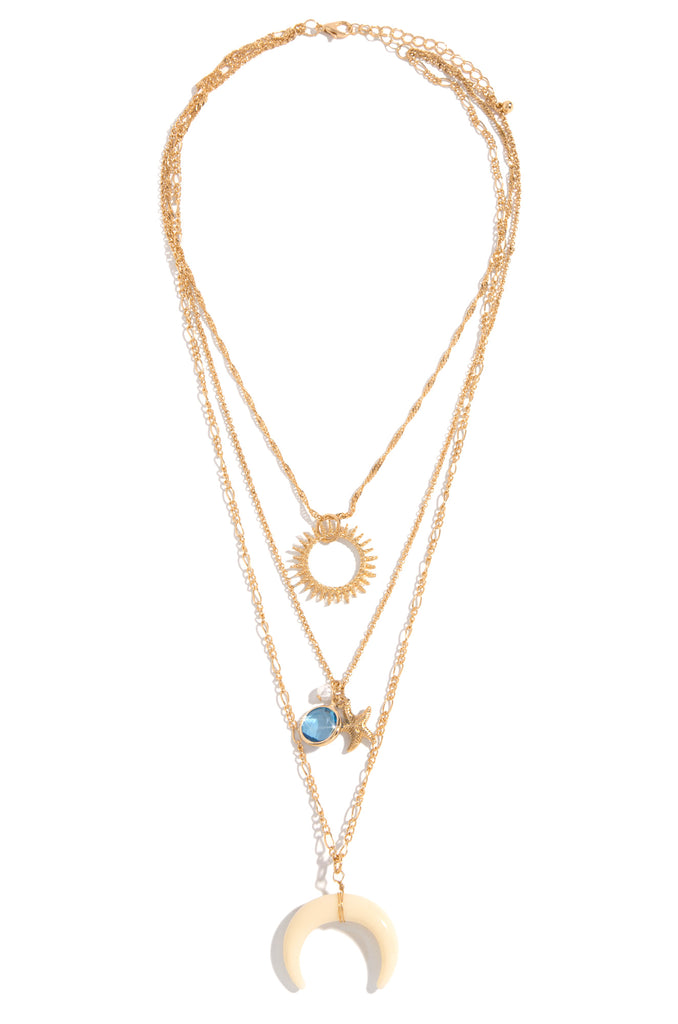 Bohemia Necklace - Gold