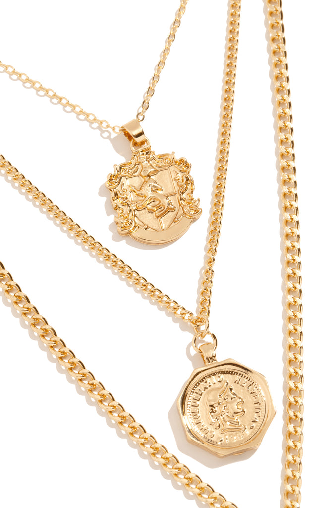 Golden Goodness Necklace - Gold