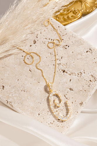 C Necklace - Gold