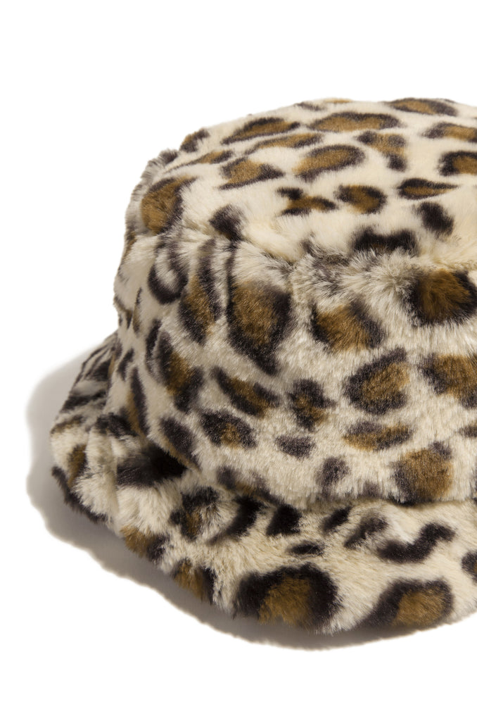 Cool Vibes Bucket Hat - Leopard