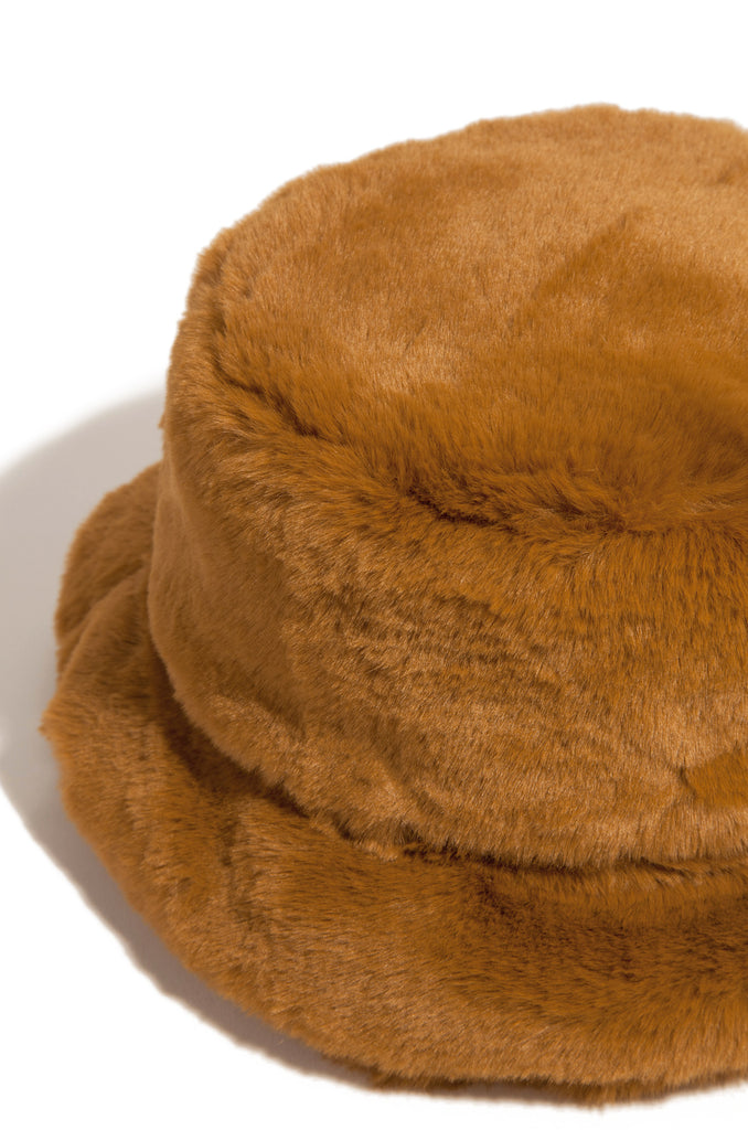 Cool Vibes Bucket Hat - Tan