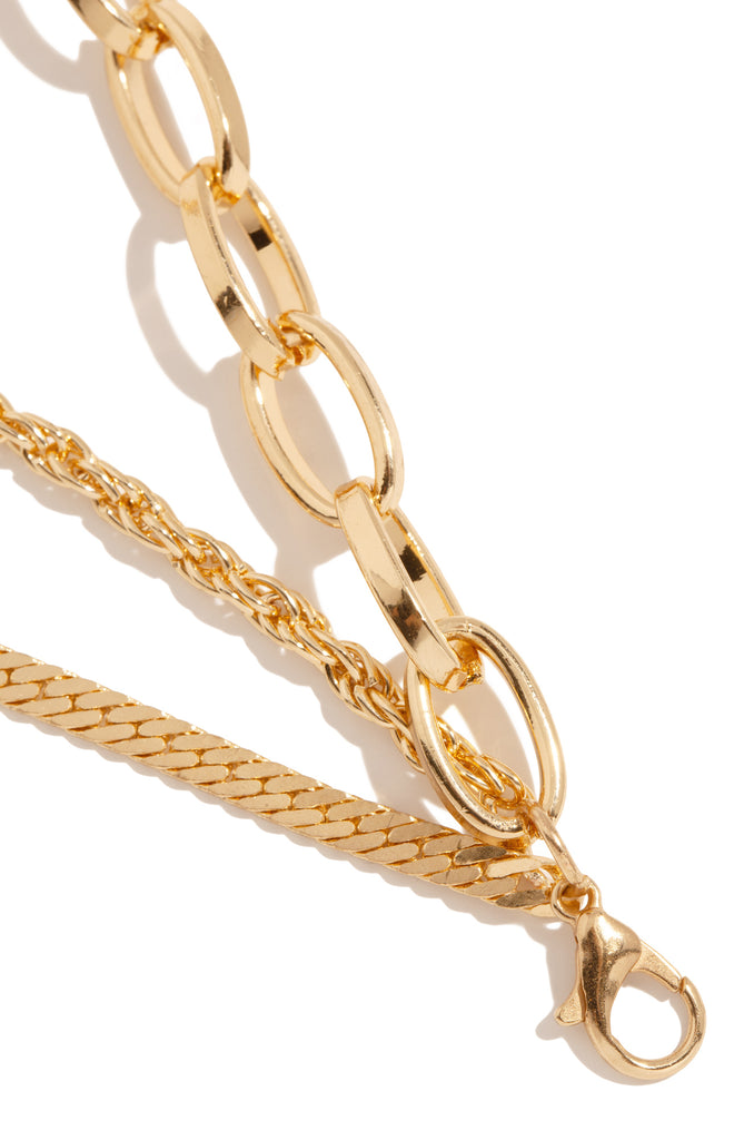 Love Lockdown Necklace - Gold