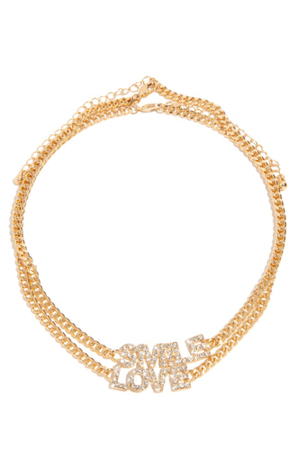 It's Unconditional Choker Set - Gold