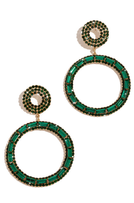 Celyn Earring - Emerald