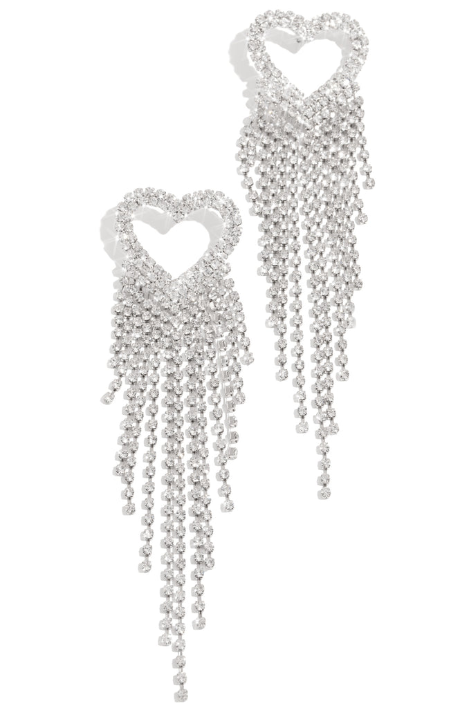 Love On Another Level Earring - Silver