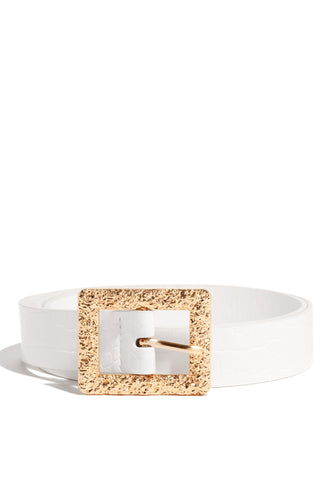 Nerida Belt - White