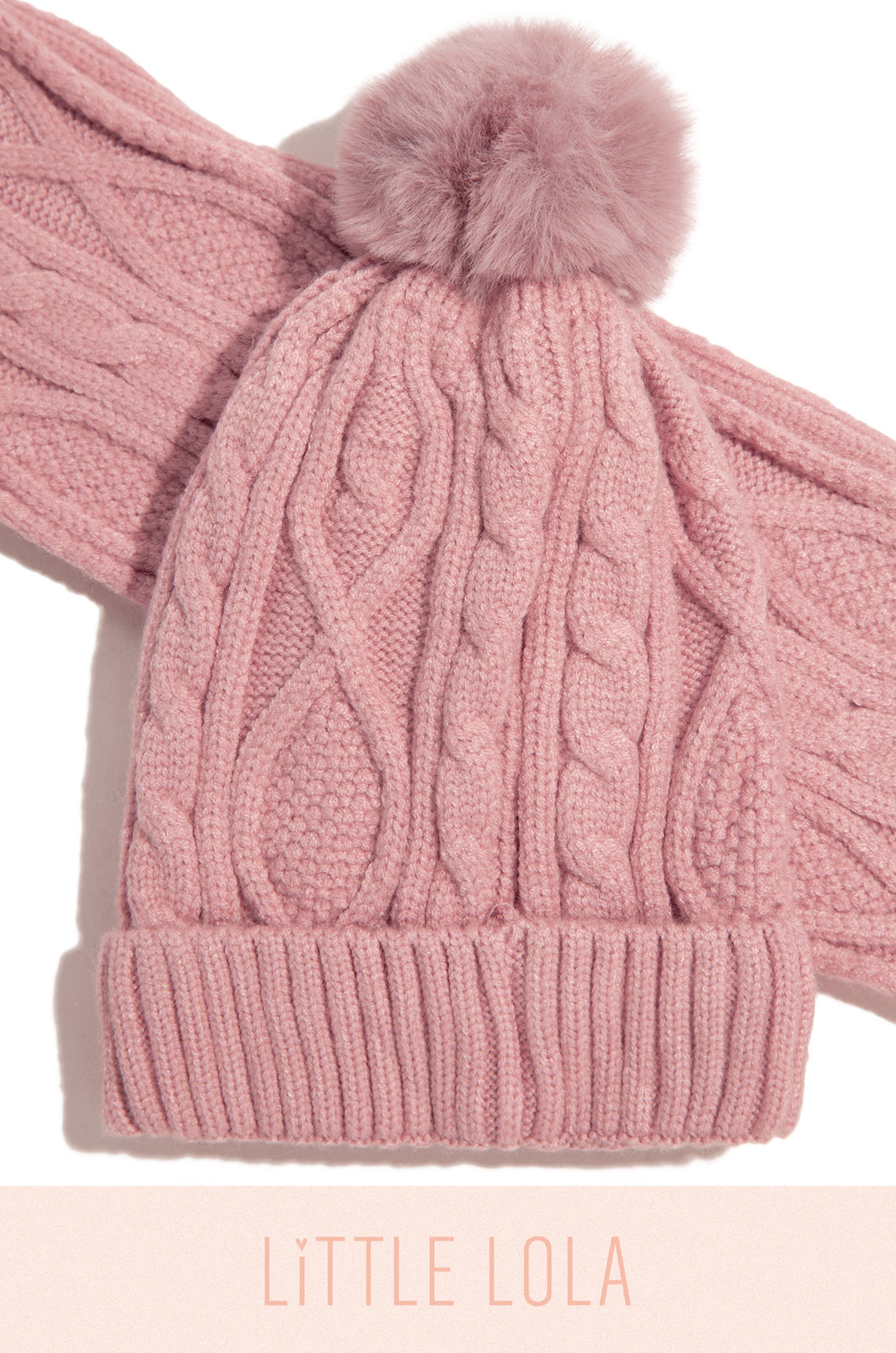 Cute & Cozy Set - Pink