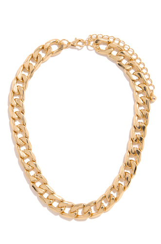 Bold Baby Necklace - Gold