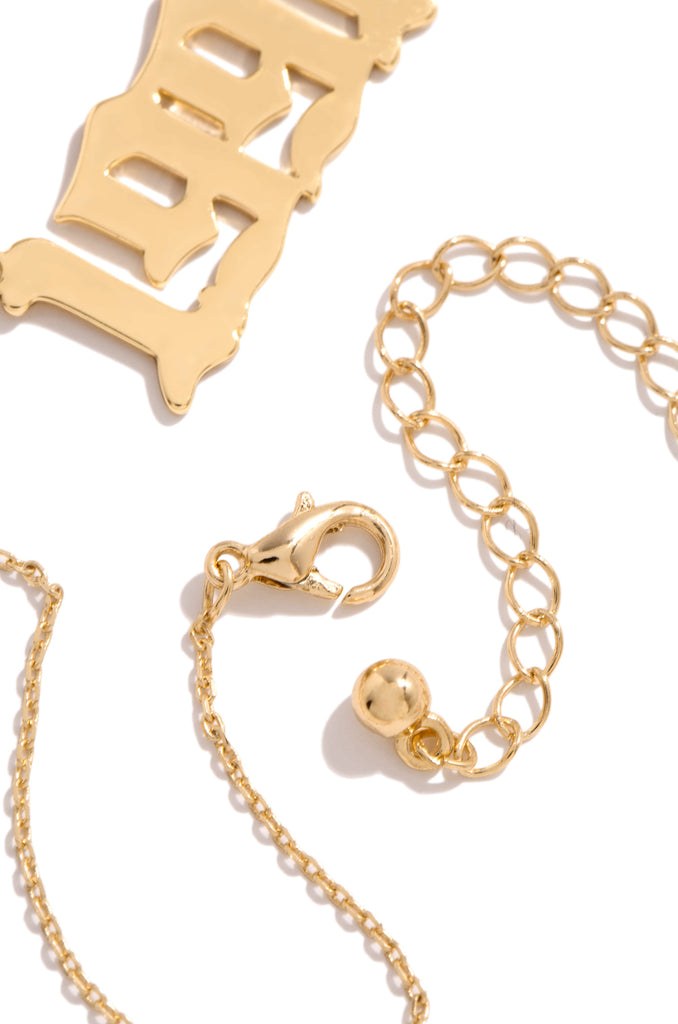 1991 Necklace - Gold
