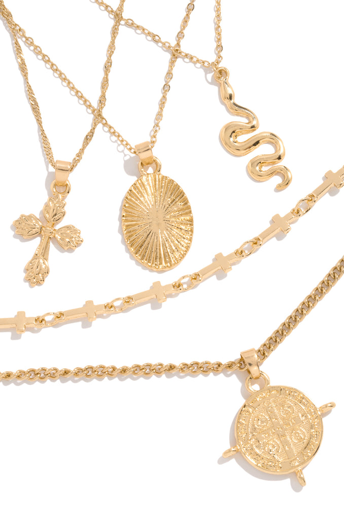 Perfect Dream Necklace Set - Gold