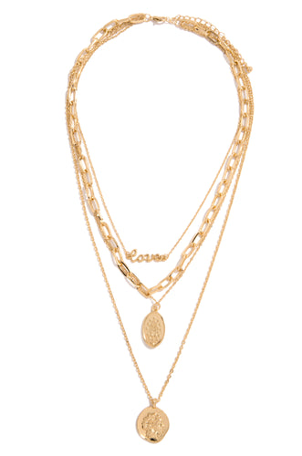 Love Lane Necklace - Gold