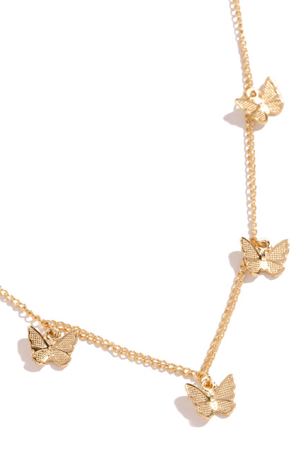 Sweet Fantasies Necklace - Gold