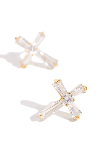 Faith & Light Earring - Gold