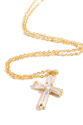 Faith & Light Necklace - Gold
