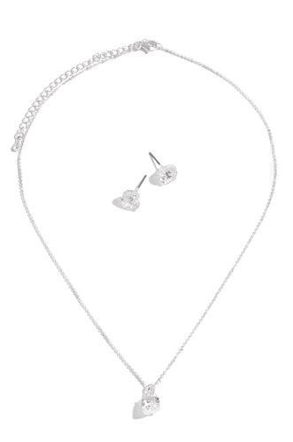 Diamonds For Breakfast Set - Silver