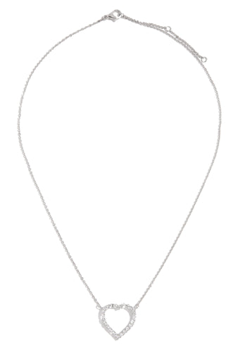 All My Love Necklace - Silver