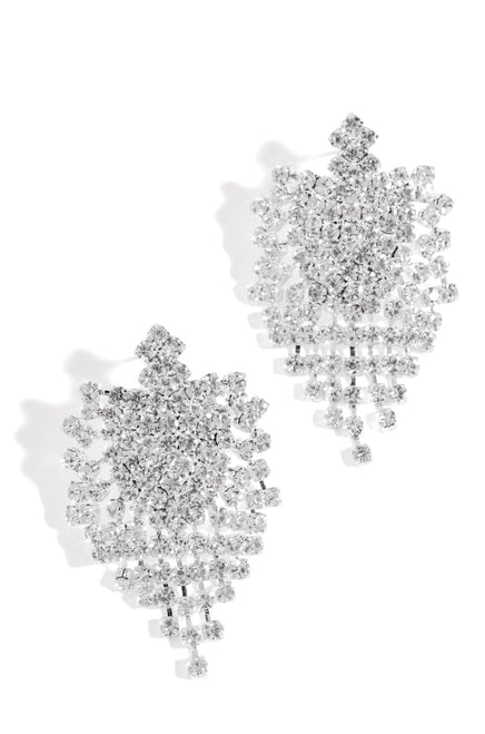 High Shine Earring - Silver