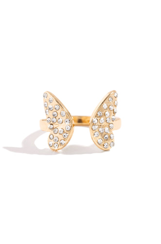 Sweet Wings Ring - Gold
