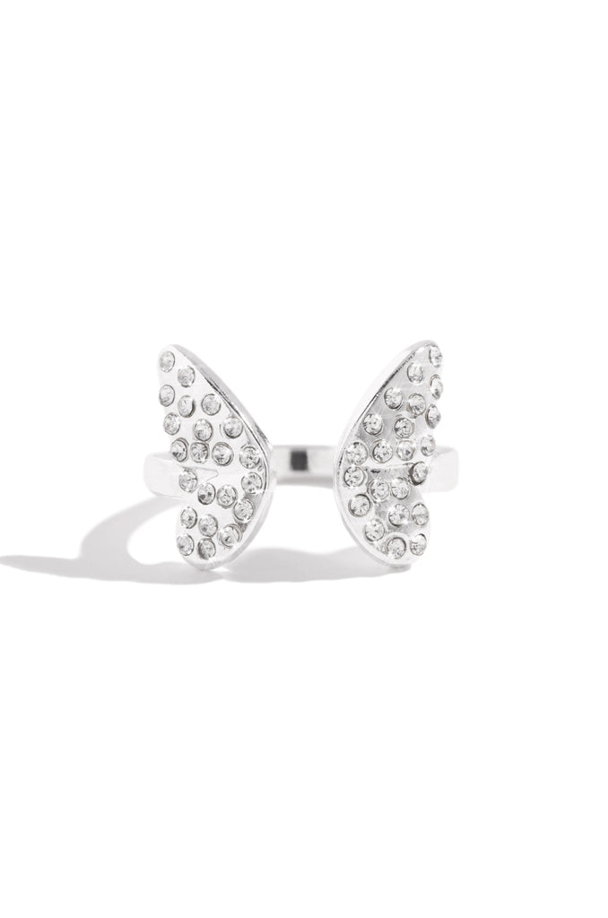 Sweet Wings Ring - Silver