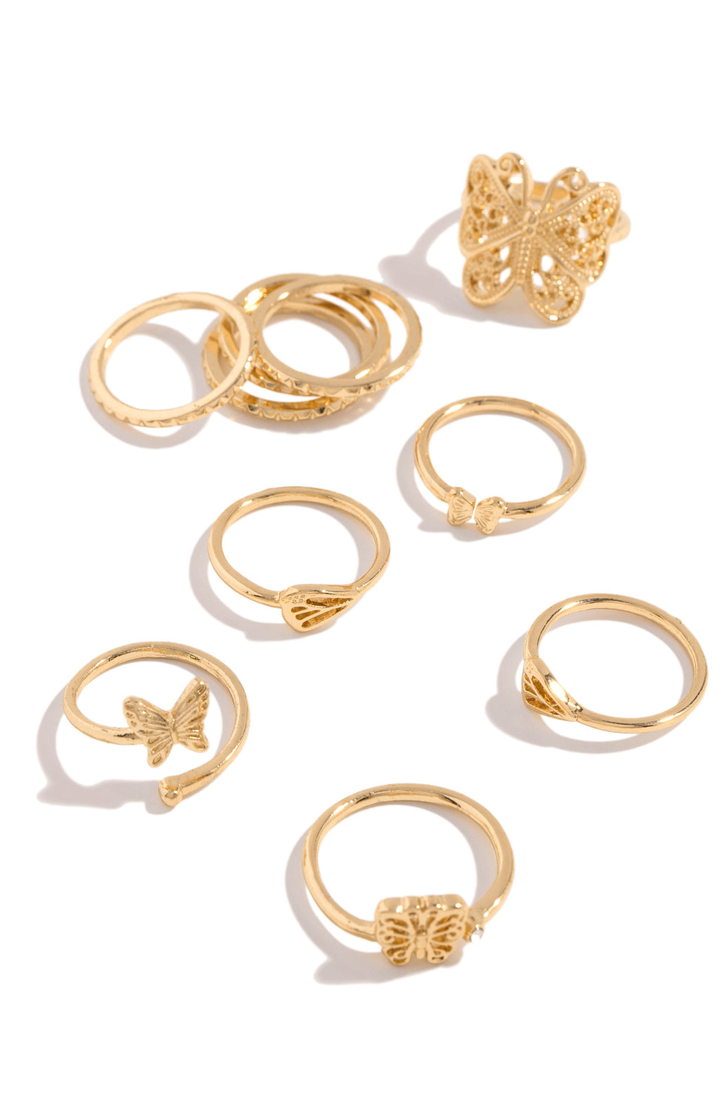 Briella Ring Set - Gold
