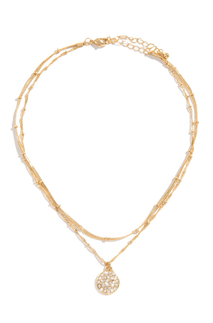 Simply Yours Necklace - Gold