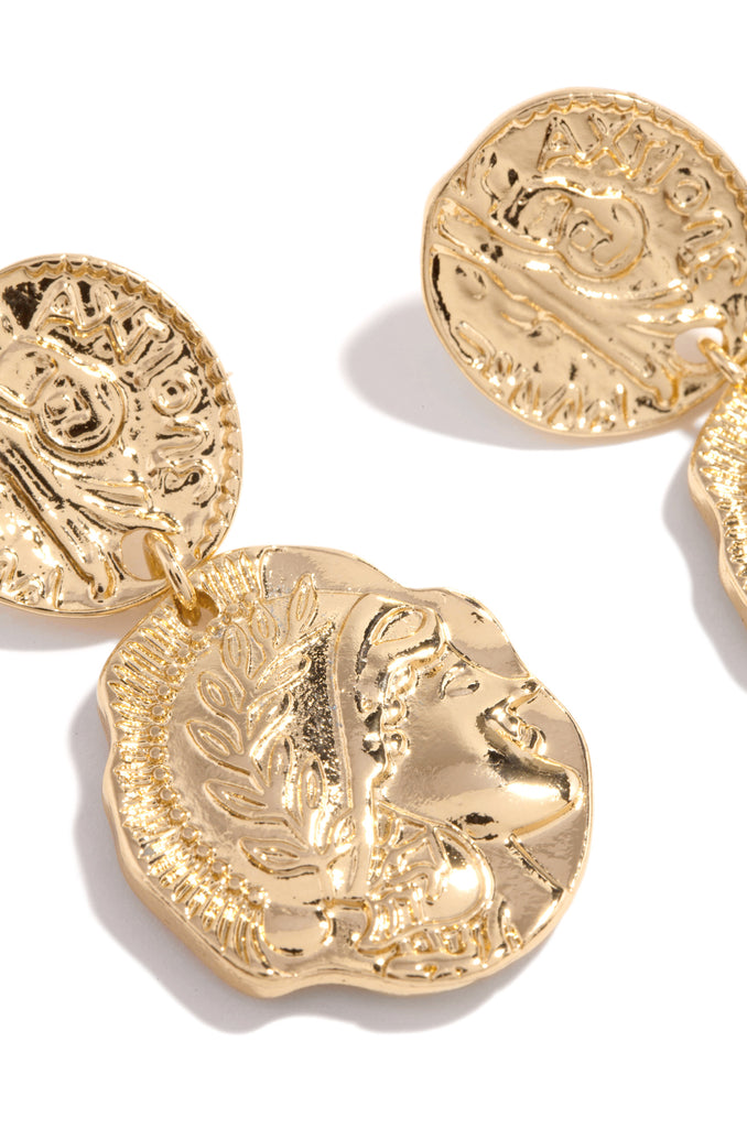 Roma Earring - Gold