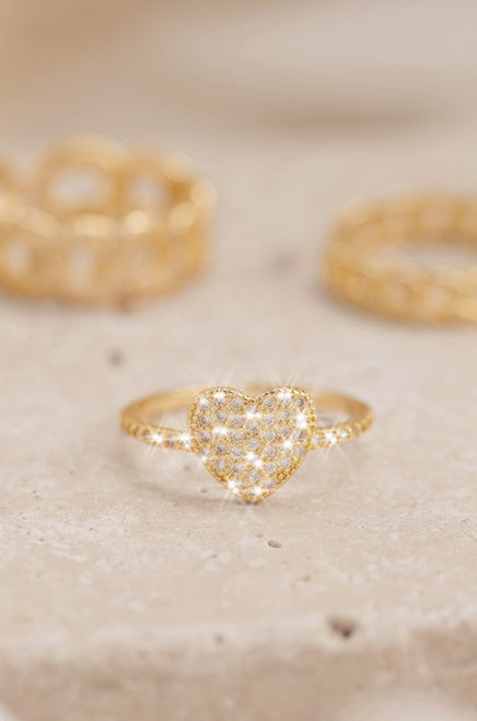 Sweet Lover Ring - Gold