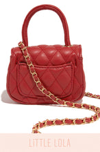 Mini Claire Bag - Red