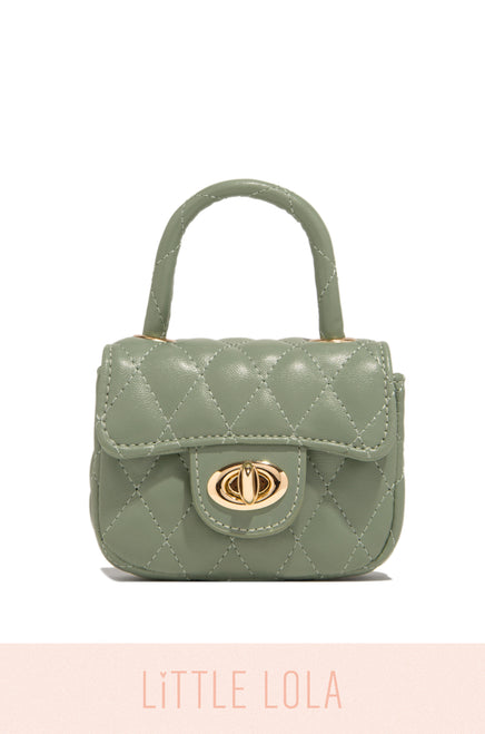 Mini Claire Bag - Sage