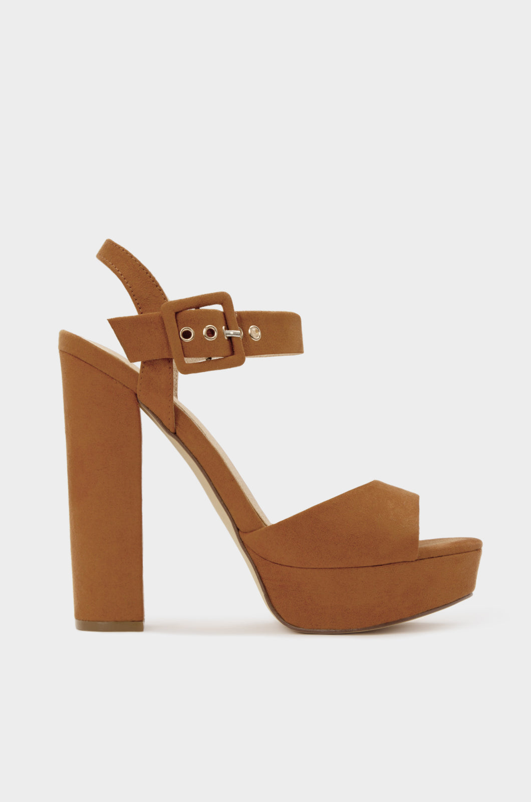 Charmer - Camel Suede
