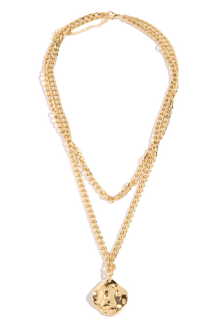 Anna Necklace - Gold