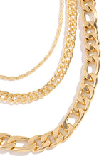 Everything Poppin Necklace Set - Gold