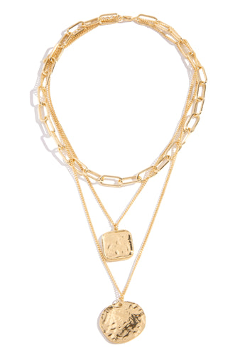 Seren Necklace - Gold