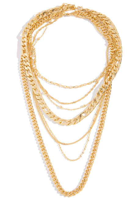 Unchain My Love Necklace - Gold