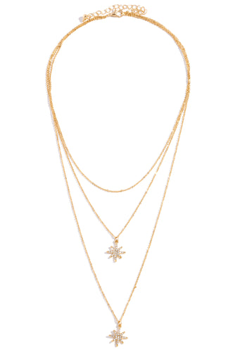 Stars Aligned Necklace - Gold