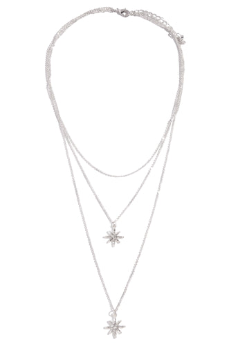 Stars Aligned Necklace - Silver