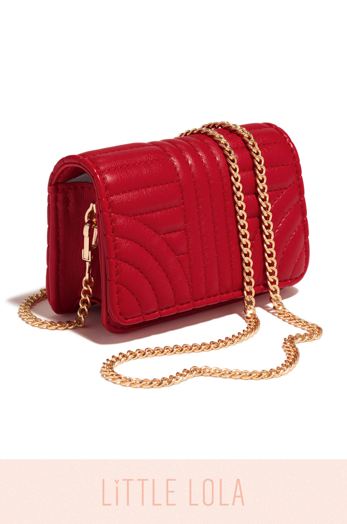 Mini Giovana Bag - Red