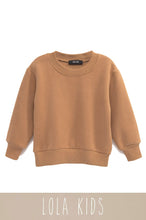 Mini Cozy Feels Crewneck - Camel