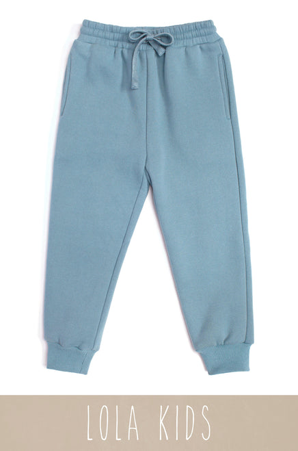 Mini Cozy Feels Jogger - Blue