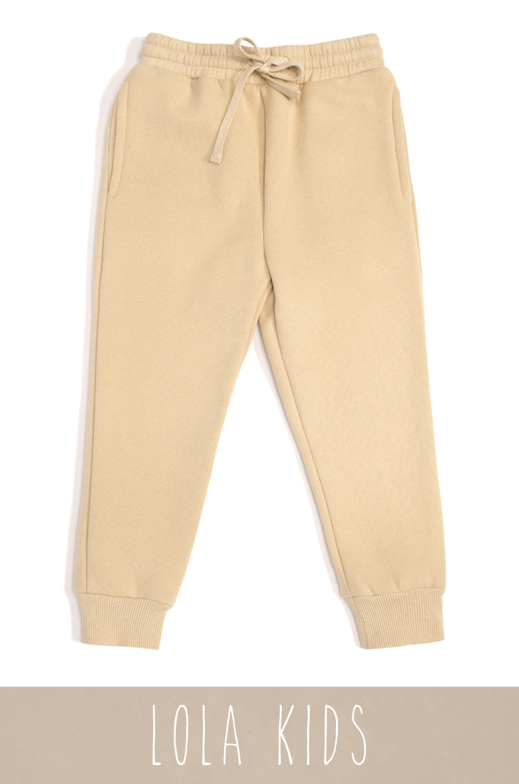 Mini Cozy Feels Jogger - Nude