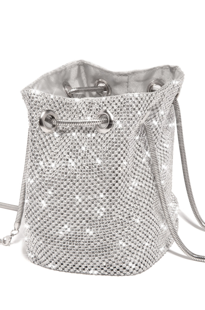 Parisian Lights Bucket Bag - Silver