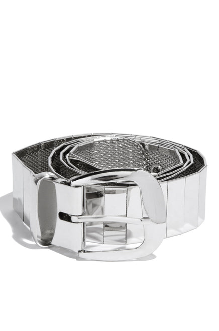 Style Muse Belt - Silver