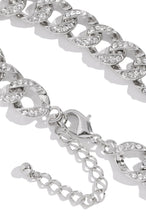Link Up Anklet - Silver